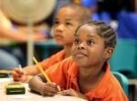 black girl in class